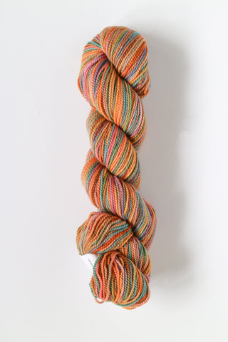 Koigu Hand Paint 4 Ply Crayons Orange Multi colour Mix