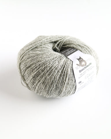DK Pure Virgin Wool - Light Grey Melange Blend