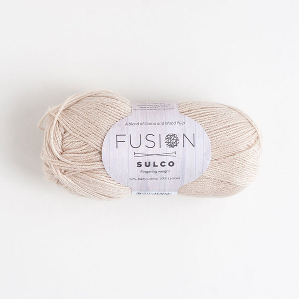 Fusion Sulco Llama/Lyocell 3 - 4 Ply Wool Equivalent - Red Wine