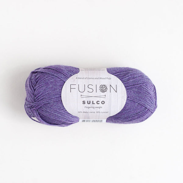 Fusion Sulco Llama/Lyocell 3 - 4 Ply Wool Equivalent - Peach