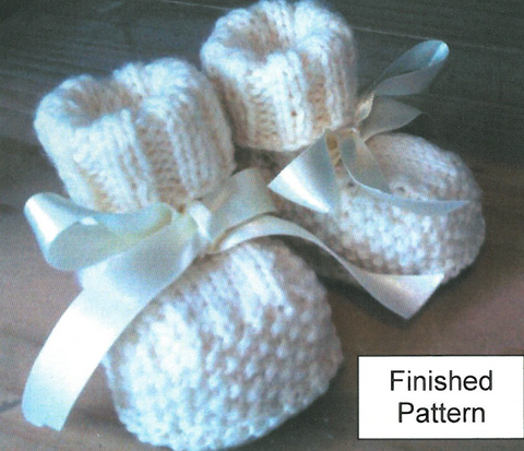 Baby Bootee Packs with Merino Wool Soles Large