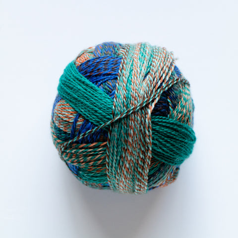 Crazy Zauberball 4 Ply Wool - Camouflage