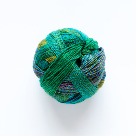 Zauberball Crazy 4 Ply Wool - Deep Water