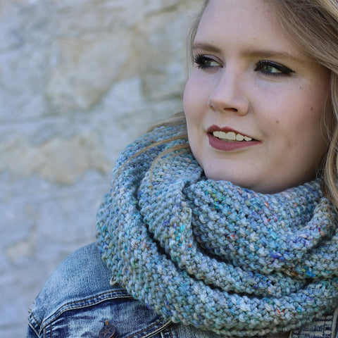 Pattern Download - Koigu Infinity Scarf in Chelsea