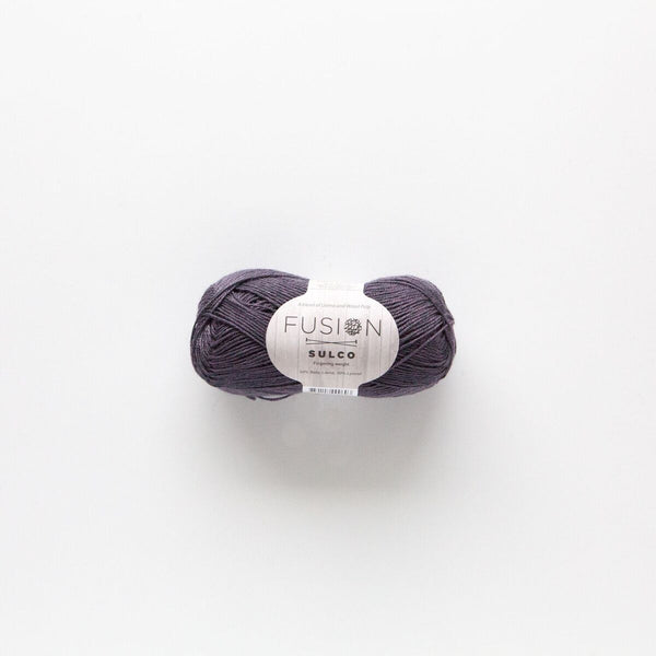 Fusion Sulco Llama/Lyocell 3 - 4 Ply Wool Equivalent - Dark Purple