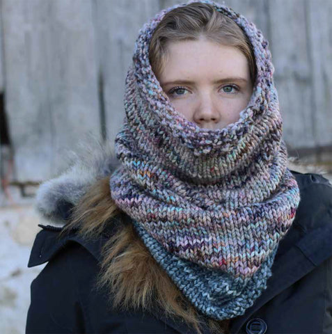 Pattern Download - The Koigu Cowl in Othello