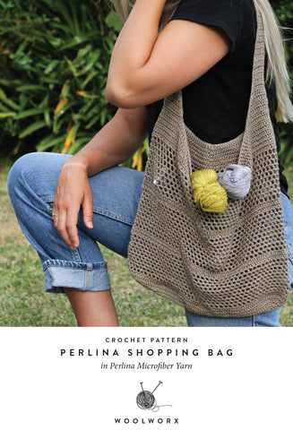 Free Pattern - Perlina Shopping Bag