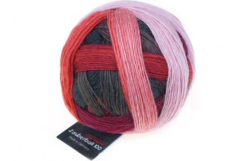 Zauberball 100 4 Ply Merino Wool -  Red to Go 2305