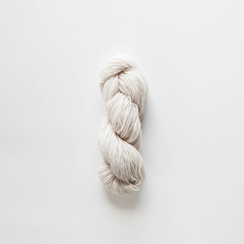 100% Alpaca Raw Undyed Hanks DK -8 Ply Wool Equivalent - Cream