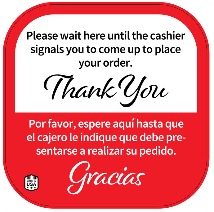 CASHIER SIGN