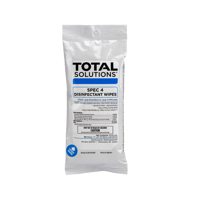 Spec 4 Disinfectant Wipes