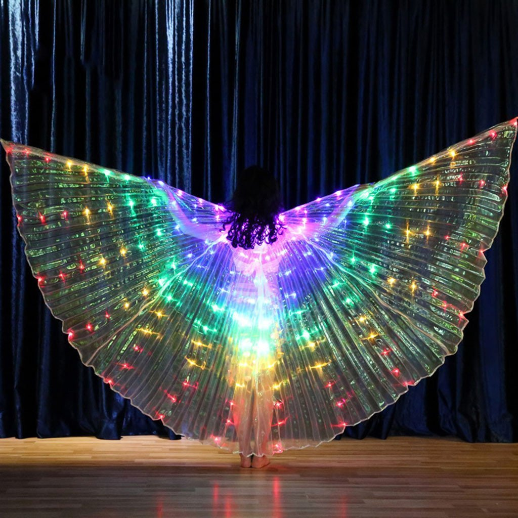 Rainbow Wings - LED Butterfly Costume【Buy 2 free shipping】