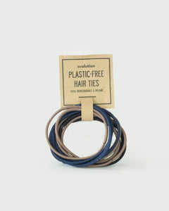 Plastic-Free Hair Ties