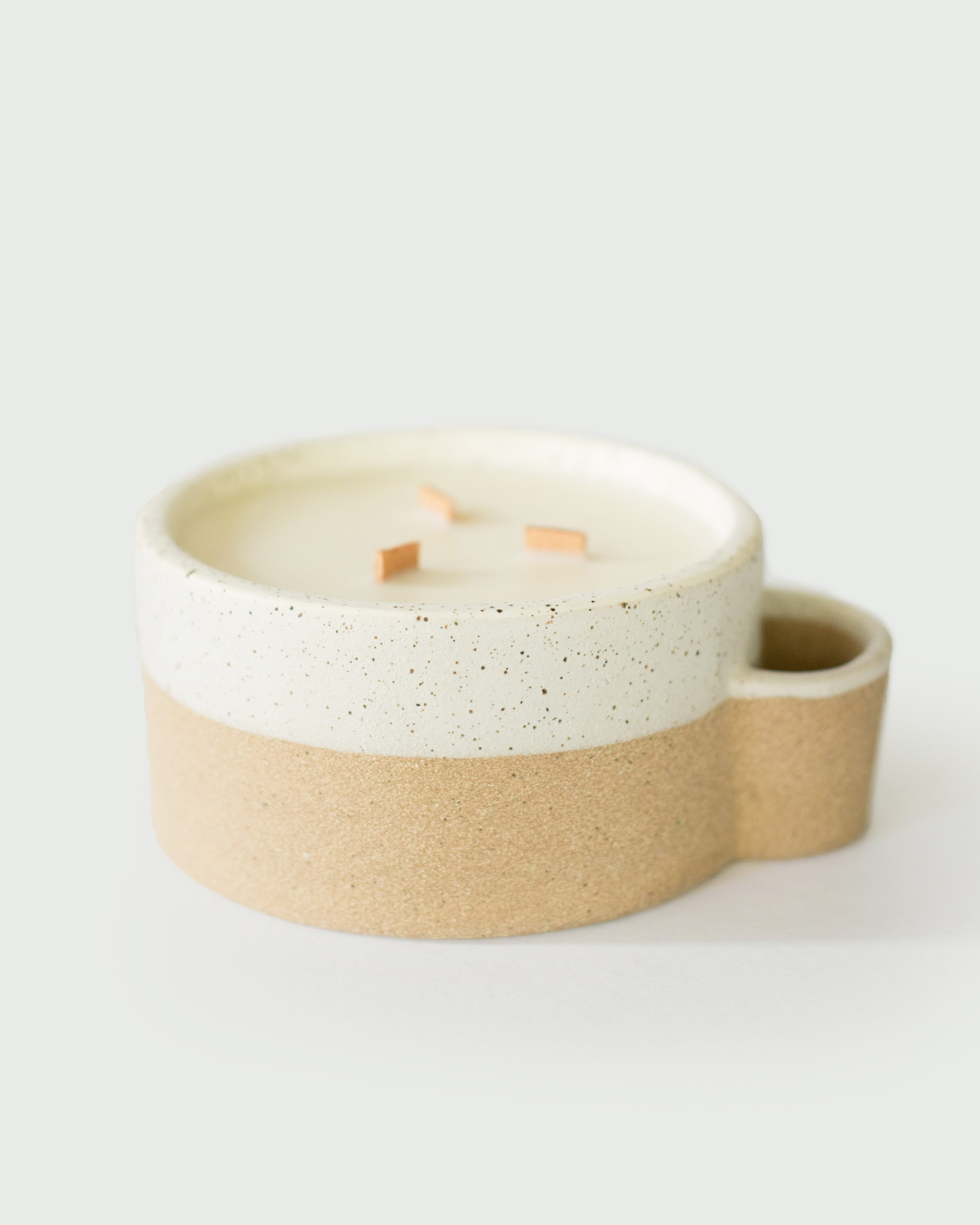 Soy Candle in a Ceramic Container (20oz)