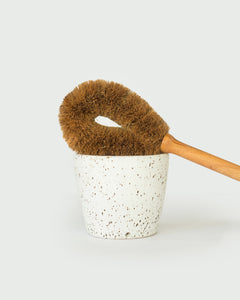 Coconut Coir Toilet Brush Set
