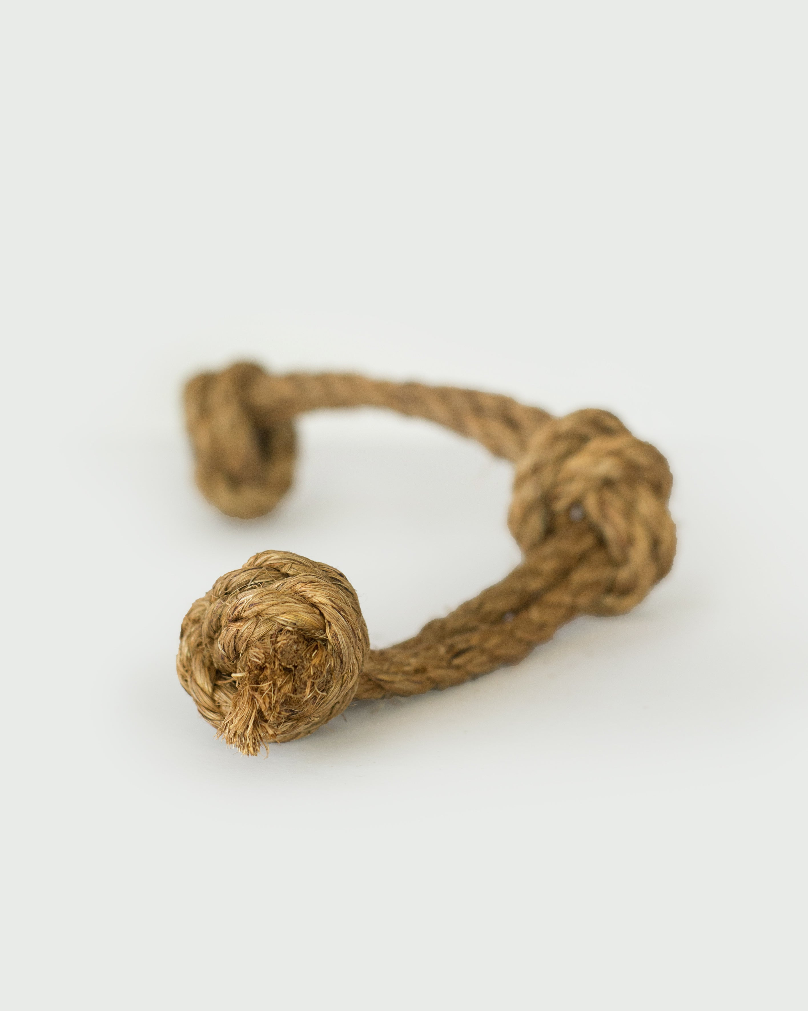 Abaca 3 Knot Tug Toy