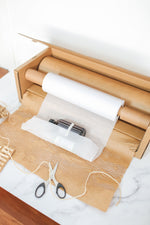 Load image into Gallery viewer, Honeycomb Kraft Paper + Lining with Dispenser