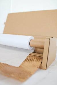 Honeycomb Kraft Paper + Lining with Dispenser