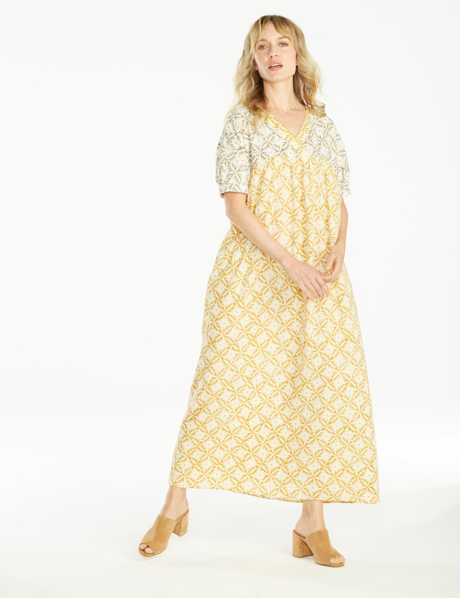 Taylor Dress Marigold - Style #181