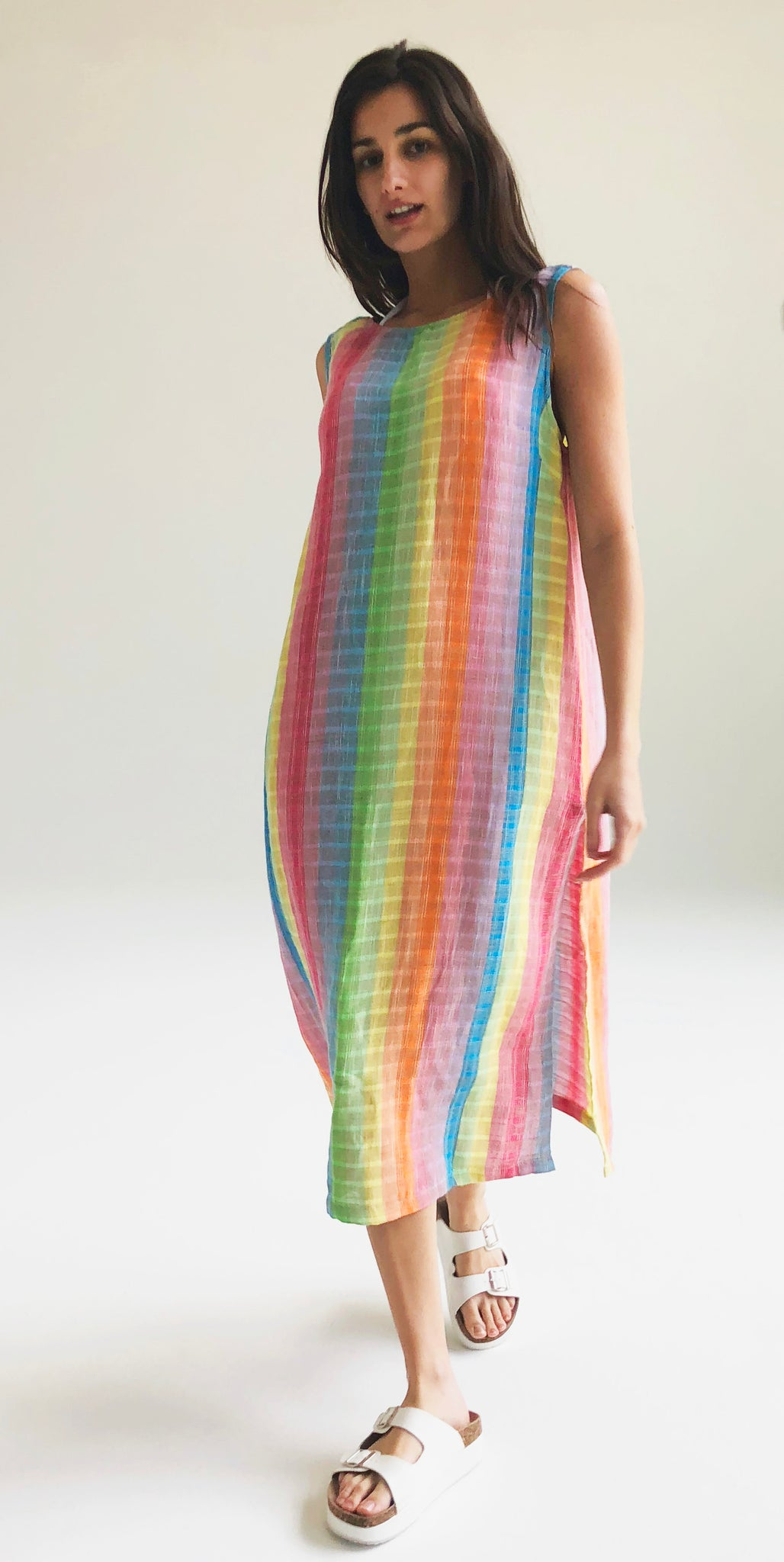 Rainbow Shift Dress