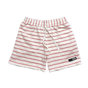 NOIX Sweat Short Red Stripes