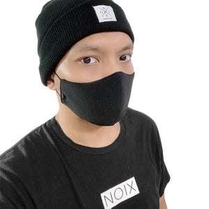 NOIX Black Washable and Eco-Friendly Face Mask
