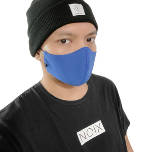 NOIX Royal Blue Washable and Eco-Friendly Face Mask