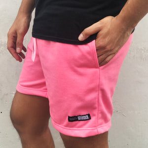 NOIX Neon Pink  and Camo Walk Shorts BUNDLE