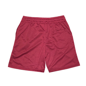 NOIX Maroon Walk Shorts