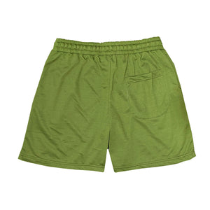 NOIX Moss Green Walk Shorts