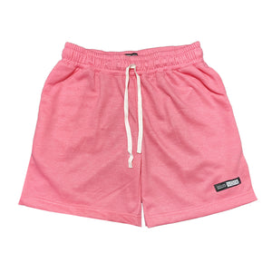 NOIX Neon Pink, Peach, and Moose Green Walk Shorts BUNDLE