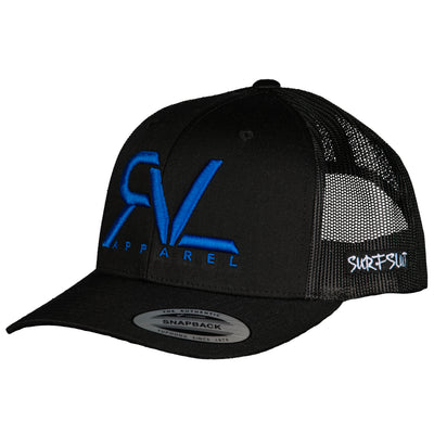 THE ORIGINAL RVL TRUCKER – BLACK/BLUE