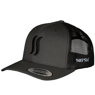 THE ORIGINAL SS TRUCKER - CHARCOAL / BLACK