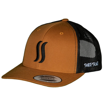 THE ORIGINAL SS TRUCKER – CARAMEL / BLACK