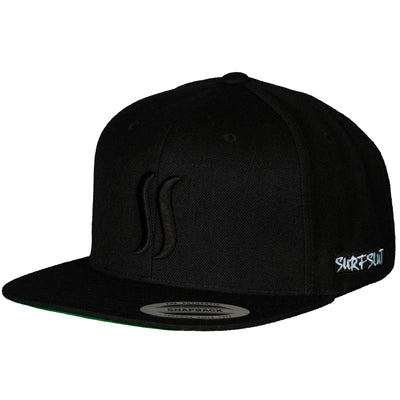 THE ORIGINAL SS SNAPBACK - BLACK ON BLACK
