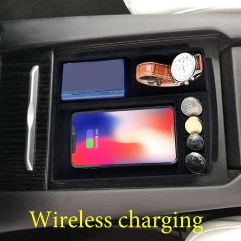 Image of Wireless Phone Charger Tesla S/X | e-car-shop.ch
