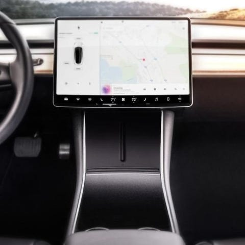 Wireless Phone Charger für Tesla 3