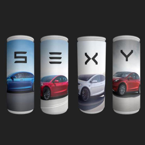 "Image of Energy Drink ""S3XY"" set Tesla I e-car-shop.ch"