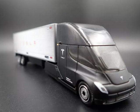 Image of MATCHBOX Tesla Semi Truck & Tesla Model S