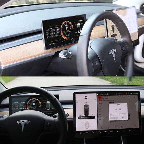 HD Instrumentendisplay für Tesla Model 3 | e-car-shop.ch