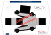 Tesla Cybertruck Bastelbogen | e-car-shop.ch