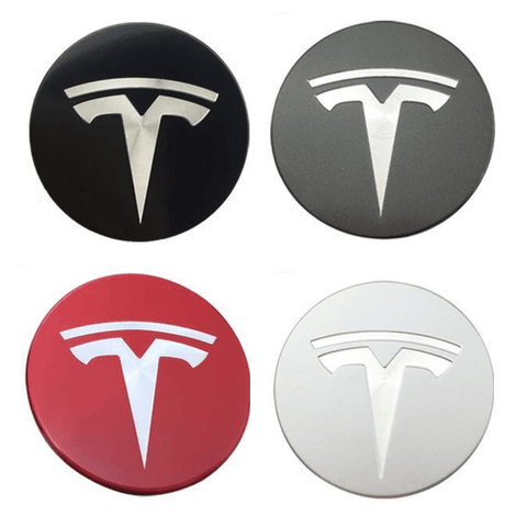 Image of Felgendeckel Set für Tesla S/3/X