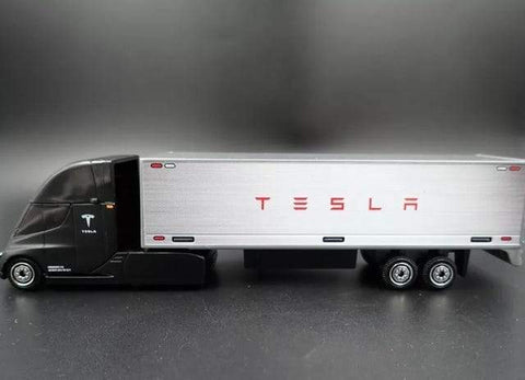Image of MATCHBOX Tesla Semi Truck - e-car-shop.ch