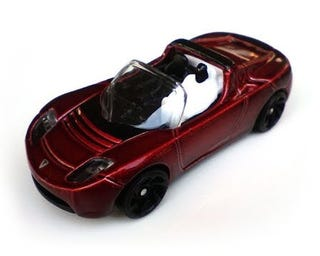 Tesla Roadster Modellauto 1/64 | e-car-shop.ch