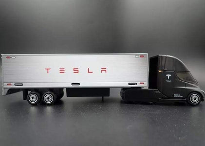 MATCHBOX Tesla Semi Truck & Tesla Model S