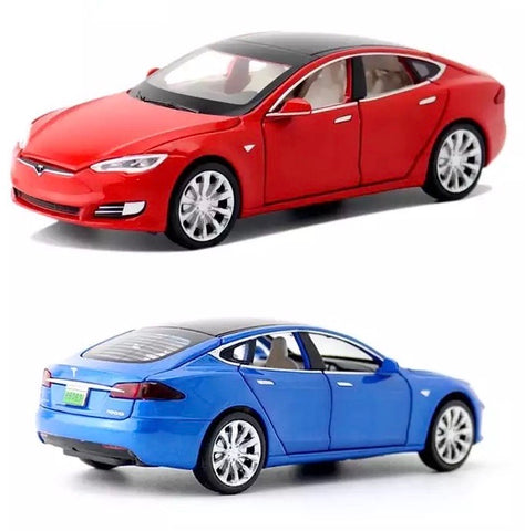 Image of Tesla Model S Modellauto 1/32