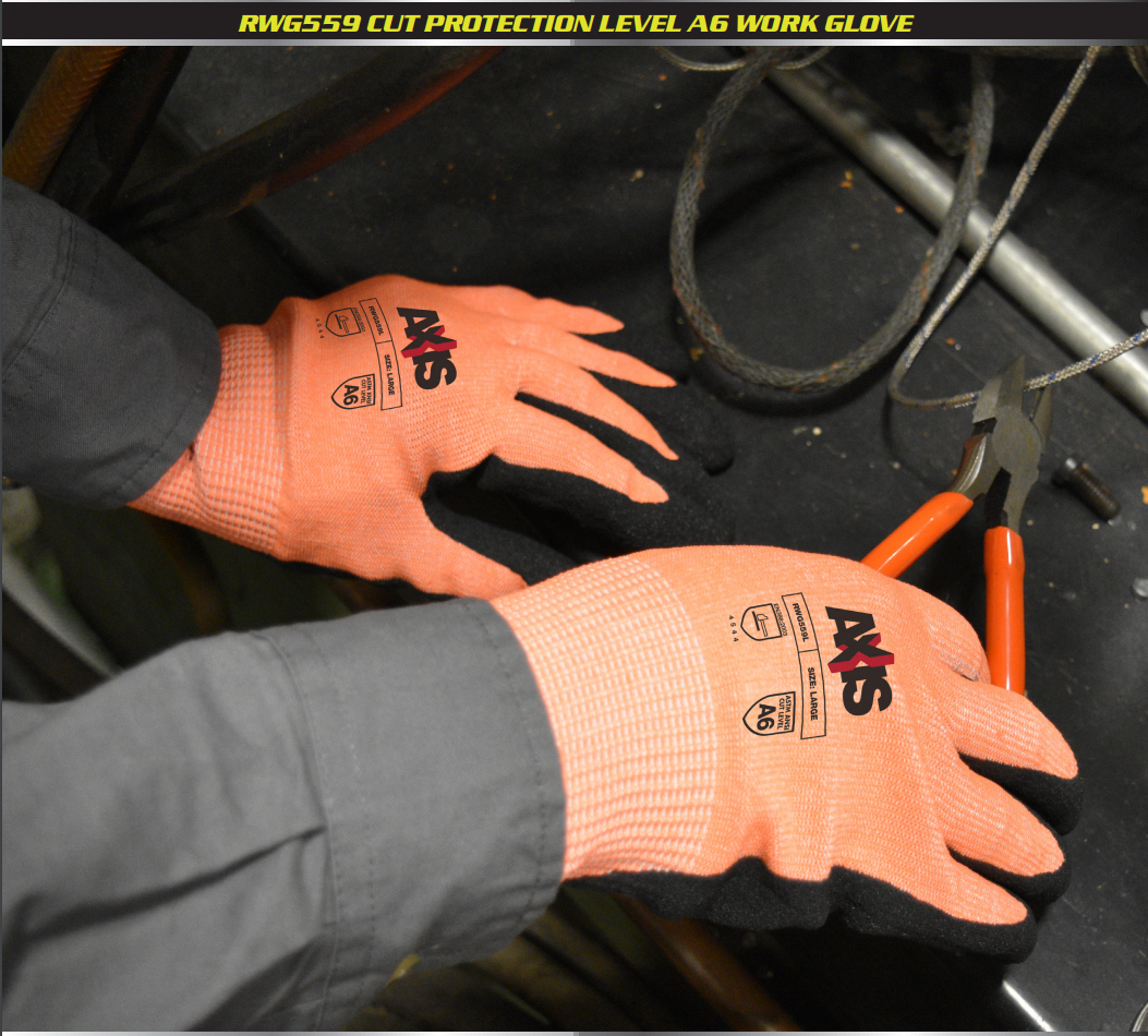 RWG559 - Cut Protection Level A6 Work Glove