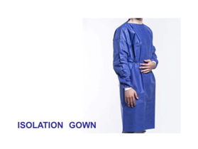 Isolation Gowns -- Carton of 60