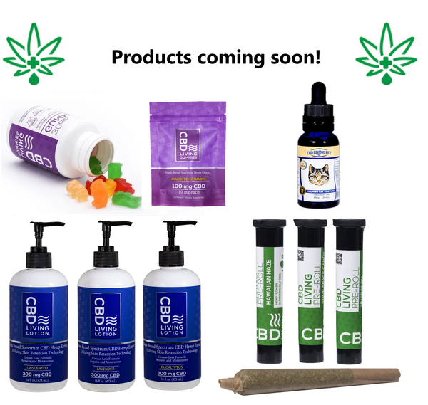 New CBD Products!
