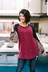 Hot Shot Color Block Top